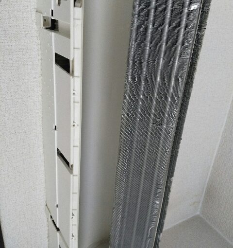 シャープ AY-Y22SV-Wのエアコンクリーニング